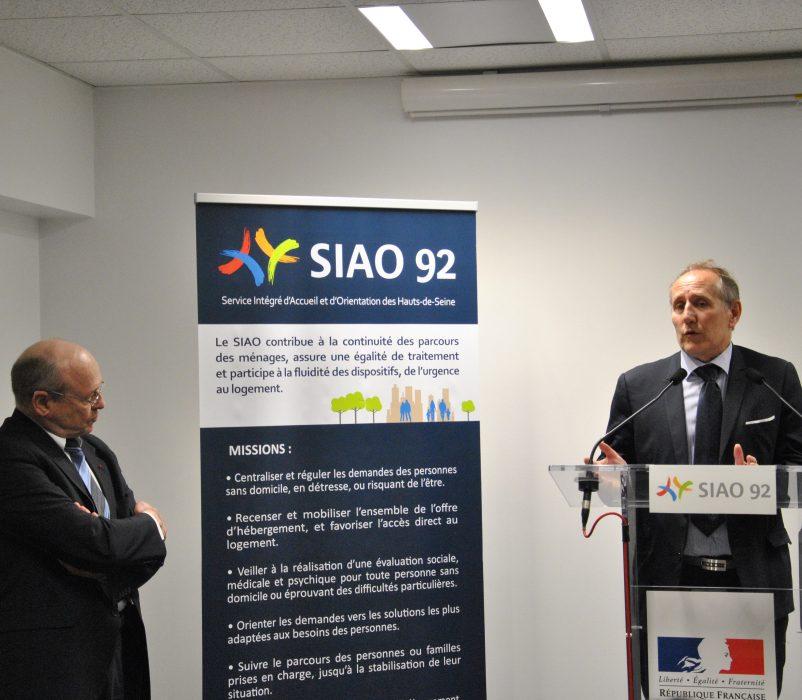 Pierre CARLI, Administrateur, Patrick JARRY, Maire de Nanterre